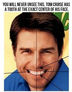 I have always stared at this, it is cool to see that others have noticed it, too!  Still love Tom Cruise!