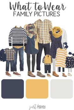 Fall Family Picture Outfits, Family Picture Colors, Family Portrait Outfits, Family Picture Poses, Navy Family Pictures, Family Pictures What To Wear, Winter Family Photos, Family Pics, Ideas For Family Photos