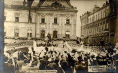 1916. december 30.IV. Károly koronázása ,Koronázó domb,Szent György tér.