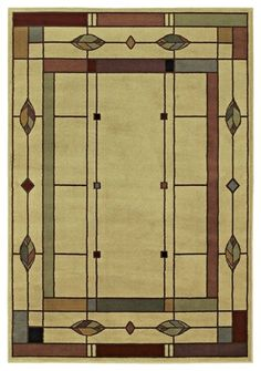Arts And Crafts   Mission Timber Lake Mission Area Rug Traditional Rugs