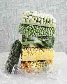 Congelazione: quali alimenti congelare e quali no