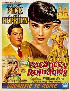 EL MUNDO DEL CARTEL: VACACIONES EN ROMA.1953