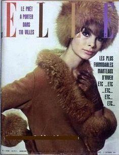 Jean Shrimpton - Elle Magazine [France] (7 January 1965)