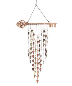 Another great find on #zulily! Key & Heart Wind Chime by Grasslands Road #zulilyfinds