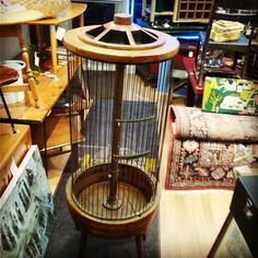 Steampunk Bird Cage Made From Foundry Patterns $145 #MercantileM #mercantile_m #Andersonville #steampunk