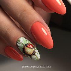 Как же хочется тепла и солнышка ☺️ гель-лаки Rockstar nails от @rockstarnails.de #om_studio #merkulova_nails #росписьгельлаками