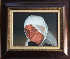 old woman Oil 50x40 cn