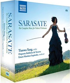 Sarasate: The Complete Works for Violin & Orchestra Complete Music, Classical Music, Violin, It Works, Movie Posters, Amazon, Orchestra, Amazons, Riding Habit