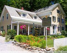 I'm only going if you promise we can stay in a sweet little bed and breakfast like this one in Vermont, okay Lulu*s?