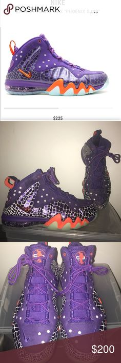 d83b3d055a3 Nike Barkley Posite Max - Phoenix Suns - 9.5