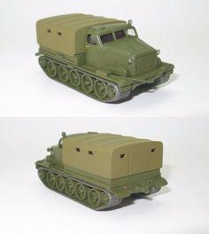 AT-T schwerer Artillerieschlepper DDR UdSSR - 1:87 HO