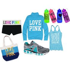 Working out! Victorias Secret Style, created by katie-howland on Polyvore