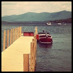 Love those HackerCrafts.. They're built right here on Lake George in Upstate NY, sold all over the world!