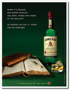 Jameson Irish Whiskey - The St. Paul Grill has a $12 flight of regular, 12 year and 18 year Jameson whiskeys during March!