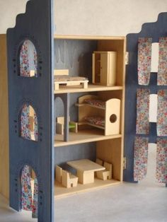 use windows as doors on a bookcase