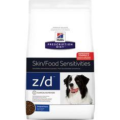 Prescription Diet™ Canine z/d™ ha probado clínicamente que ayuda a reducir los signos cutáneos y digestivos producidos por las alergias alimentarias. Beneficios Clave Alimento hipoalergénico…