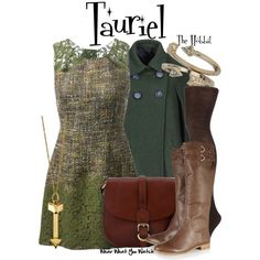 Inspired by Evangeline Lilly as Tauriel in 2013's The Hobbit: The Desolation of Smaug. #film #wearwhatyouwatch