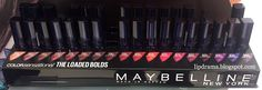 Lip Drama: NEW Maybelline The Loaded Bolds Lipsticks Now In Store!
