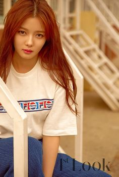 Kim Yoo-jung (김유정) - Picture @ HanCinema :: The Korean Movie and Drama Database Child Actresses, Korean Actresses, Korean Actors, Kim Joo Jung, Jung Yoon, Look Magazine, Girls Magazine, Korean Makeup Look, Korean Beauty