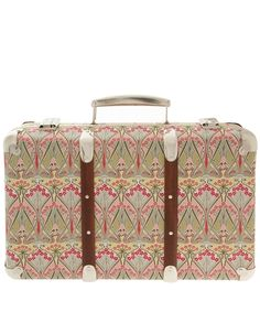 Cream Ianthe Print Miniature Suitcase Liberty Print Suitcases. Shop More From The Liberty Print Suitcases Collection Online At Liberty.Co.Uk via Nuji.com