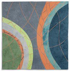 Gallery 3: Crevices - Valerie Maser-Flanagan  Fiber Artist