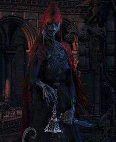Bloodborne Bell Ringing Woman