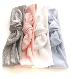 Tie Knot // Jersey Knit // Baby Girl Headband // Pastel // Newborn // Infant // Pink // Purple // Blue // Lavender // Coral :TK by jumpingjackjack on Etsy https://www.etsy.com/listing/179456486/tie-knot-jersey-knit-baby-girl-headband