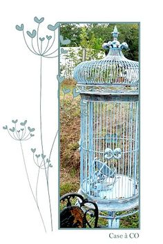 Bird cage something like this for backyard.