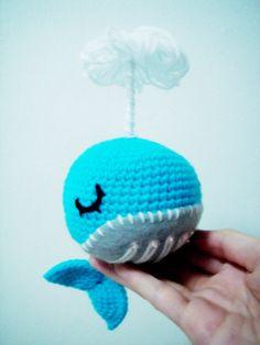 amigurumi splish splash baby whale 02 by keymistress, via Flickr