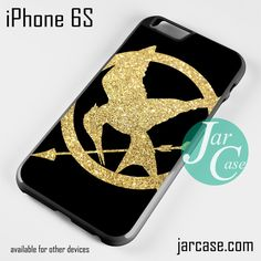 The Hunger Games Glitter Gold Phone case for iPhone 6/6S/6 Plus/6S plus