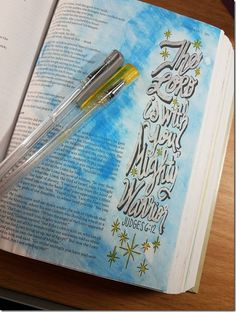 My Weekly Bible Journaling #19 | Paulette's Papers Book of Judges
