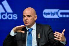 """Infantino não quer ser """"ditador"""" do debate sobre ampliação da Copa do Mundo - http://anoticiadodia.com/infantino-nao-quer-ser-ditador-do-debate-sobre-ampliacao-da-copa-do-mundo/"""