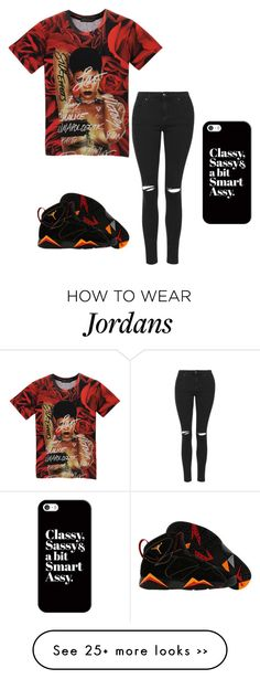 """""""."""" by flawless23forever on Polyvore featuring mode, NIKE, Topshop en Casetify"""