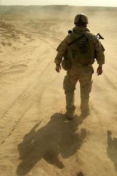 German Bundeswehr army soldier in Afghanistan