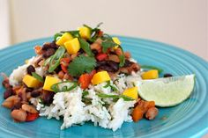 Coconut Rice & Beans (but so much more than that)