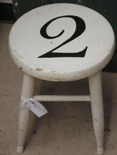 Bar Stool Numbered