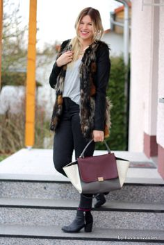 Outfit: Faux Fur  Demnächst auf meinem Blog :)