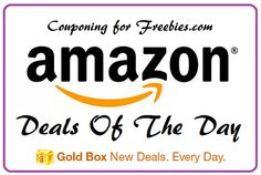 Amazons Deal Of the Day & Lightning Deals For The Day  - http://couponingforfreebies.com/amazons-deal-day-lightning-deals-day/