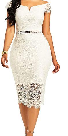 Lace Short Outfits, White Lace Dress Short, Short Dresses, Summer Dresses, Formal Dresses, Latest African Fashion Dresses, African Dresses For Women, African Lace Dresses, Lace Dress Styles