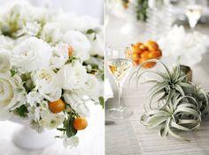Elegant Modern Winter Citrus Wedding Ideas | Snippet & Ink