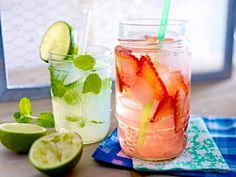 Sommerparty - feiern bei schönstem Wetter! - minz-limetten-limo  Rezept