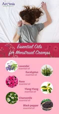 If nothing works well to ease your menstrual cramps, you can consider essential oils for the same. Experts recommend different essential oils to period cramps. Learn about the best essential oils for ease and comfort. Black Pepper Essential Oil, Oregano Essential Oil, Chamomile Essential Oil, Rose Essential Oil, Eucalyptus Essential Oil, Organic Essential Oils, Best Essential Oils, Essential Oil Blends, Rosewood Essential Oil