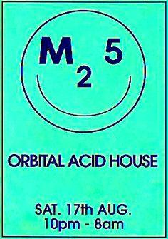 M25 Orbital Acid House: Saturday, 17 August 1991