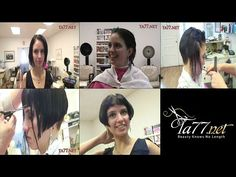 Shaved Nape, Blunt Bangs, Hair And Beauty Salon, 1920s Flapper, Great Videos, Hair Videos, Bobs, New Look, Hair Cuts