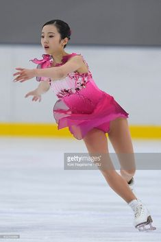 News Photo : Marin Honda of Japan competes in the junior...