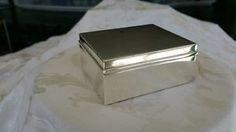 Tiffany&Co  Sterling Silver Cigarette Cedar Lined Box in Antiques, Silver, Sterling Silver (.925), Boxes   eBay