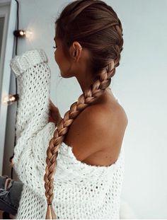 50 liebenswerte Braid Frisuren für langes Haar, Beliebte Frisuren, lange und dünne Zopffrisuren für lange Haare Pretty Hairstyles, Braided Hairstyles, Top Hairstyles, Dark Brown Hairstyles, Hairstyle Ideas, Braided Locs, Hairstyle Names, Blonde Hairstyles, Feathered Hairstyles