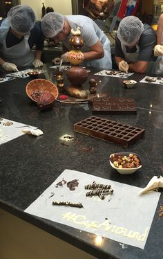 Students were in Brussels learning how to make chocolate How To Make Chocolate, Study Abroad, Brussels, Bouldering, Students, Learning, Education, Teaching