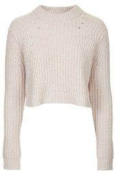 Chunky Ribbed Crop Jumper