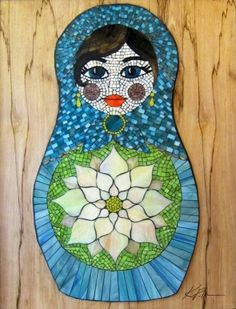 Beautiful Matrioshka doll
